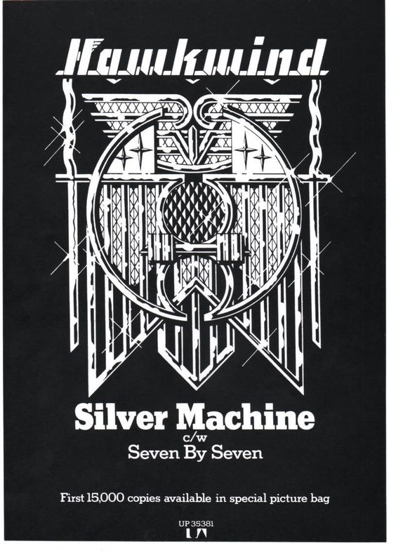 Silver Machine (reissue) UK press ad v2