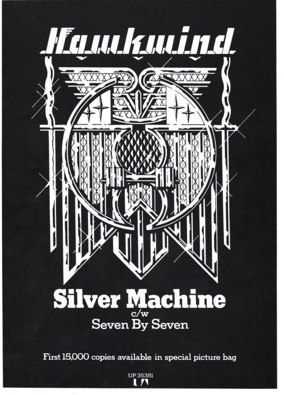 Silver Machine (reissue) UK press ad v2