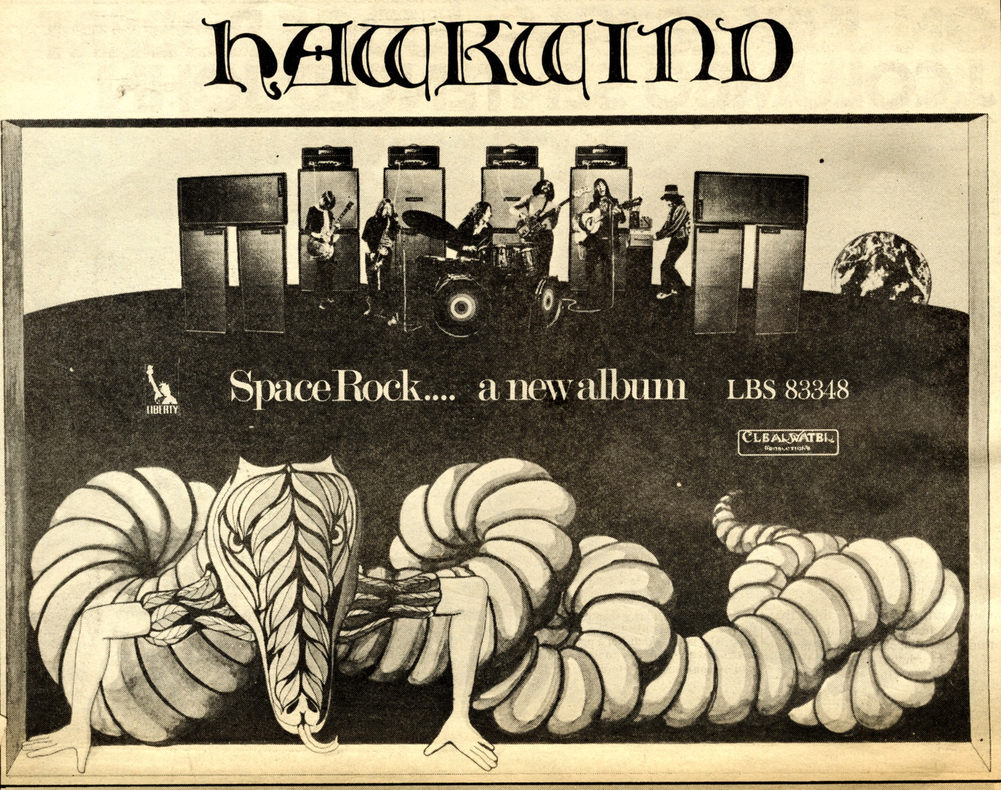 Hawkwind UK press ad v2