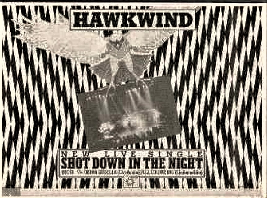 Shot Down In The Night UK press ad