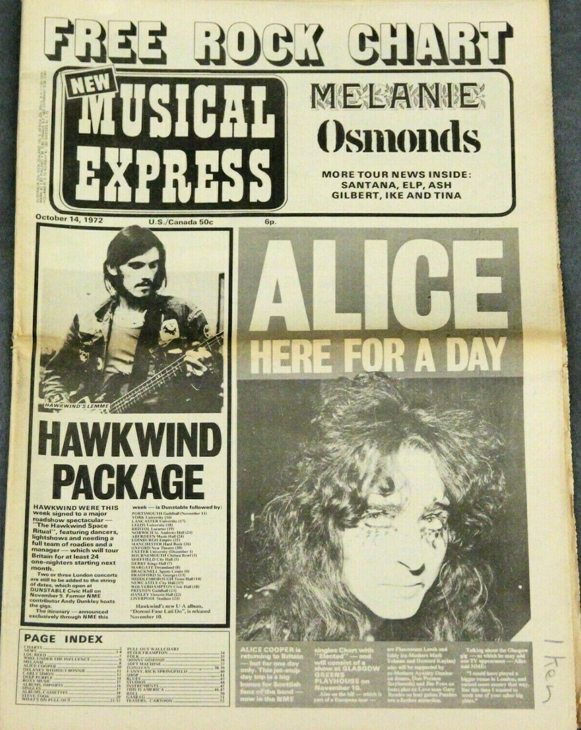 NME - 14.10.72