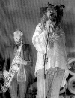 Michael Moorcock & Nik the Frog - Harlow Music Festival, 10 August 1974