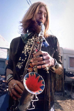 Outside the Isle Of Wight festival, 27-21 August 1970 - Charles Everest