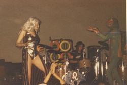 Kursaal Ballroom, Southend, 21 December 1974 - Michael Ronald aka Turtle 69 Hawklord