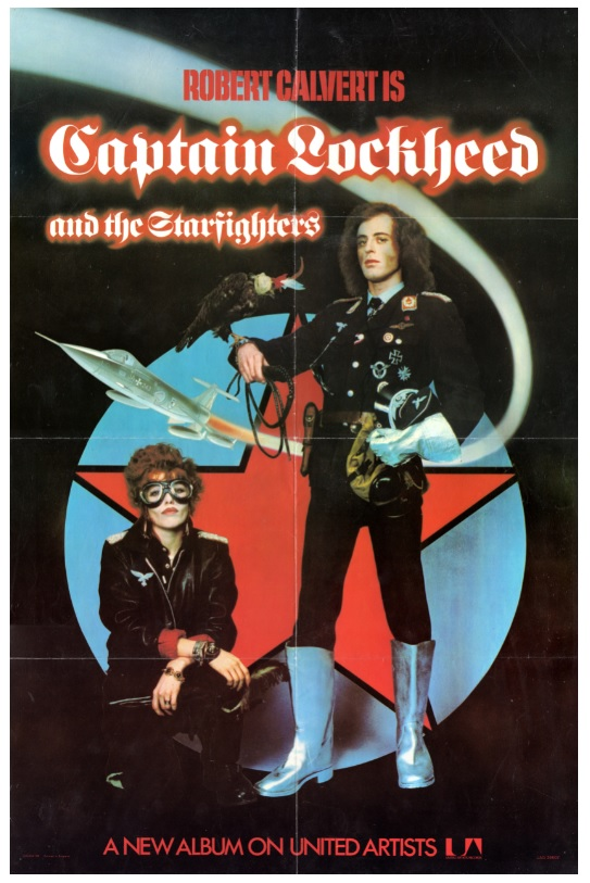 Captain Lockheed UK in-store poster