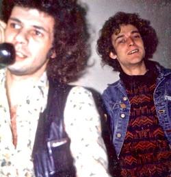 Doug Smith & Jon Smeeton - US tour - March 1974 - from Doug Smith's archive