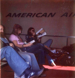 US tour - March 1974 - from Doug Smith's archive