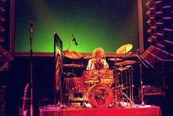 Ginger Baker, Hammersmith Odeon, 2 November 1980 - copyright Keith Kniveton