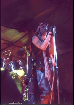 Stonehenge festival, 21 June 1977 - Brigitte Perron