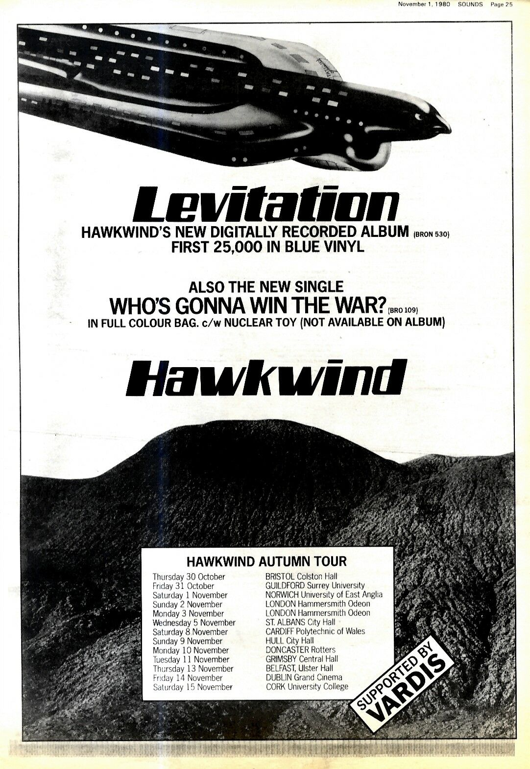 Levitation UK press ad