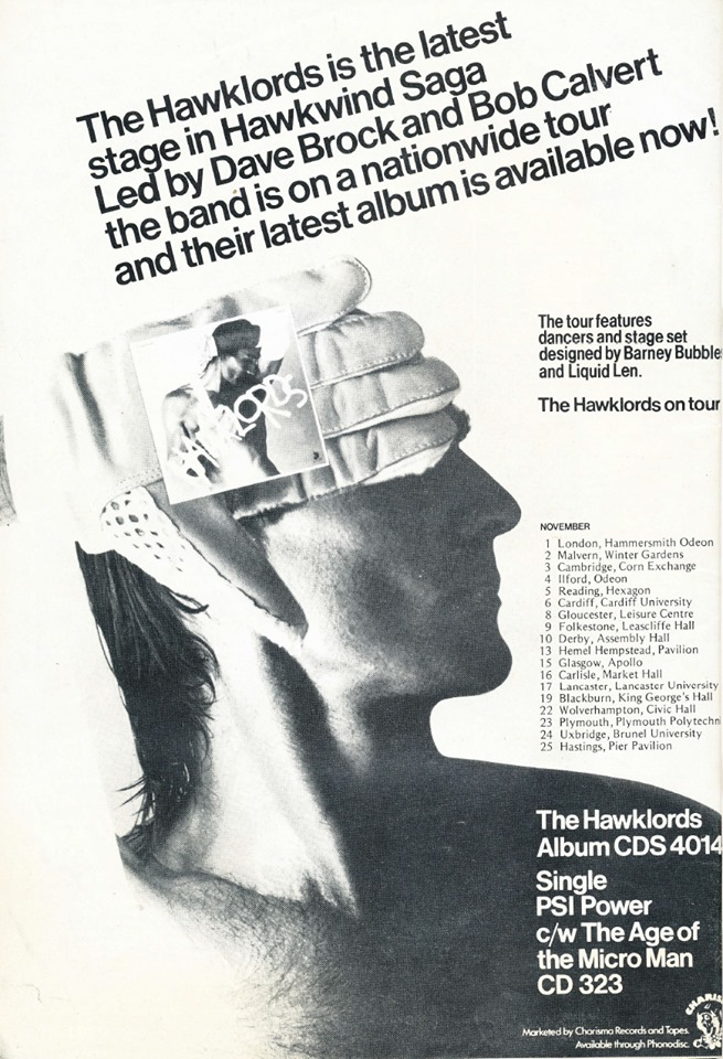 Hawklords UK press ad 2