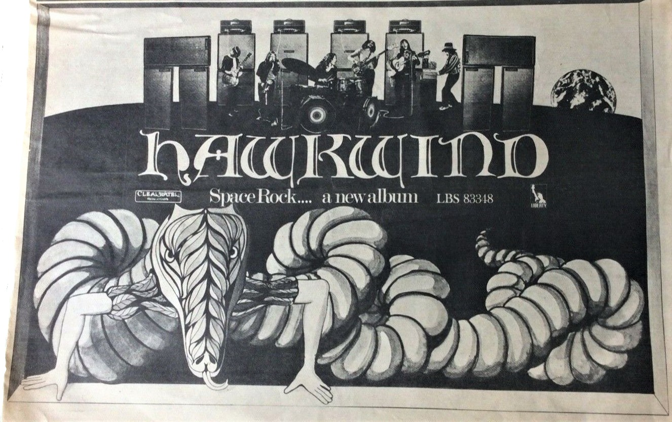 Hawkwind UK press ad v1