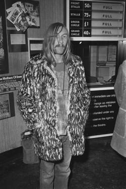 London premiere of Frank Zappa's 200 Motels, November 1971