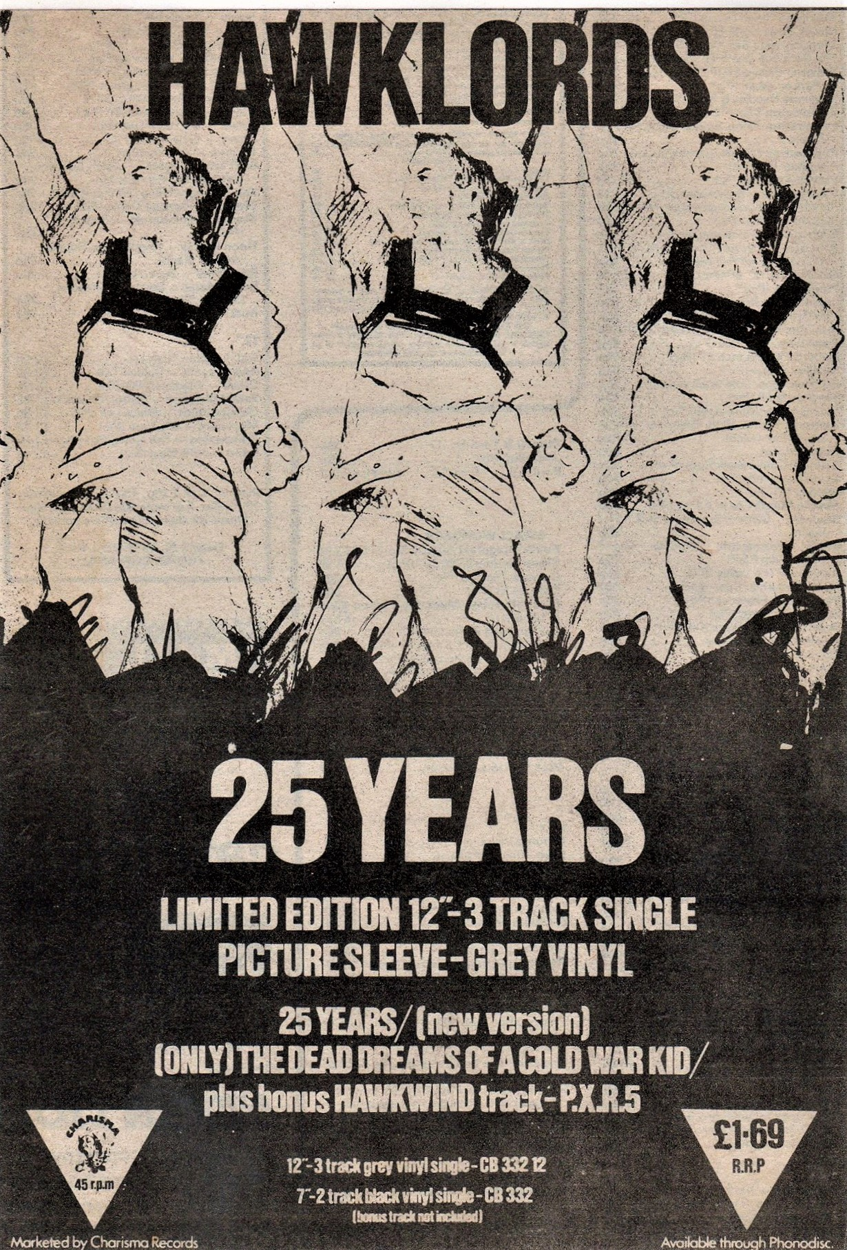 25 Years UK press ad