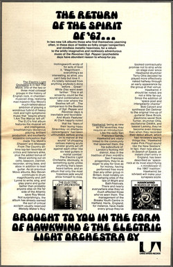 In Search Of Space - US press ad (Phonograph Record)
