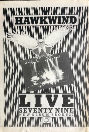 Live Seventy Nine UK press ad