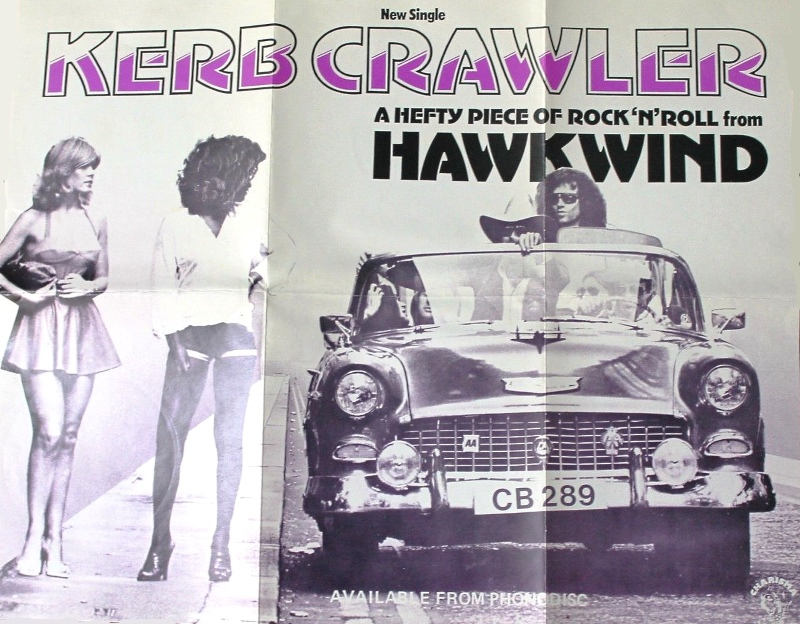 Kerb Crawler UK in-store poster