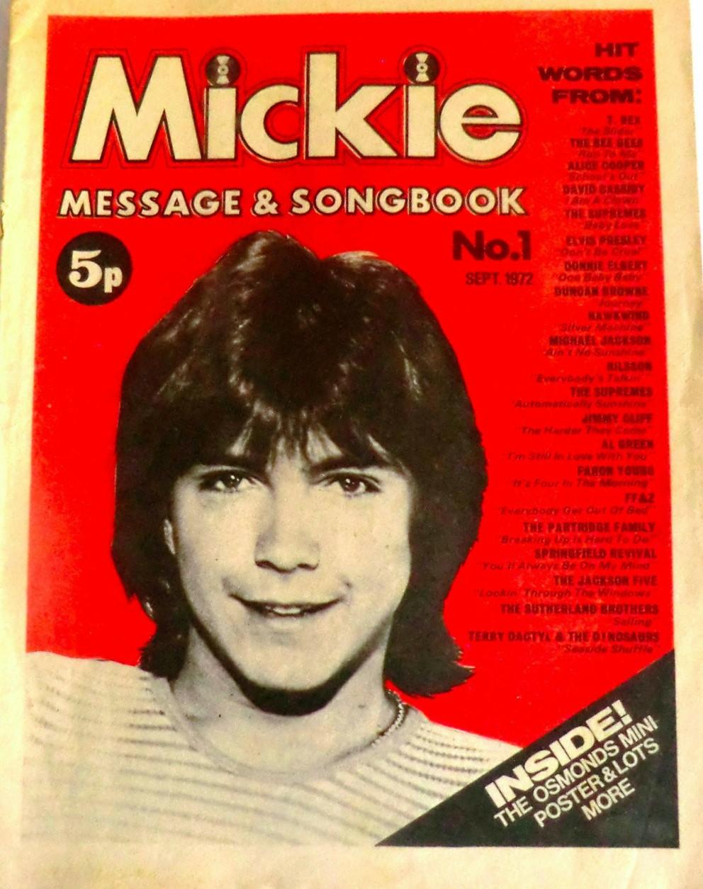 Mickie Songbook - 09.72