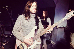 HOTMG Rehearsals at Clearwell Castle, April 1974 - Michael Putland