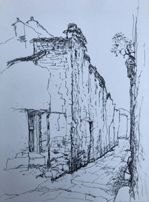 Sketch Quick - Small Town in Europe (201