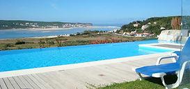 Private panoramic pool of Casa do Lago