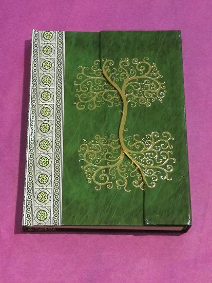 carnet de notes arbre