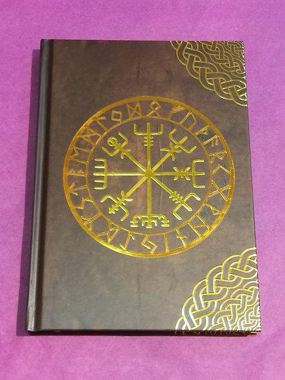 carnet d'écriture runes