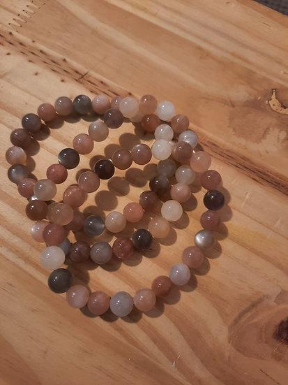 bracelet pierre de lune qualité AA 8mm