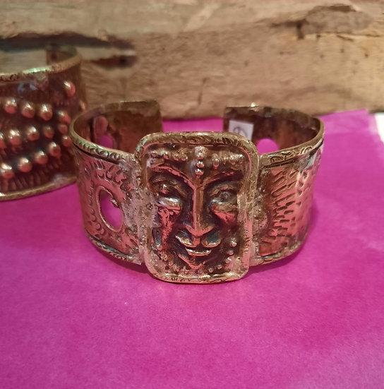 Bracelet cuivre masque