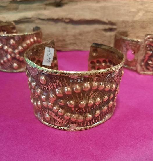 Bracelet cuivre gravé 3