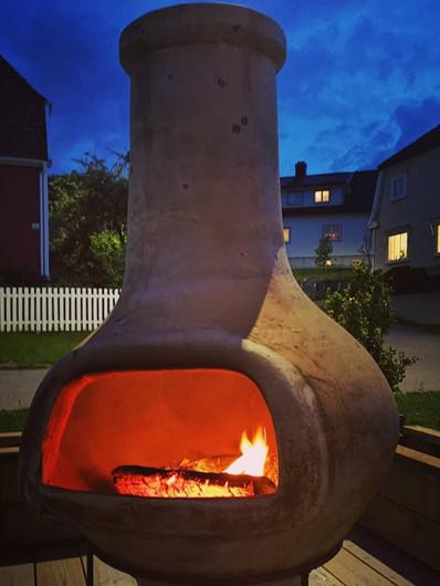 Elephantfoot i Tønsberg varmer både store og små
