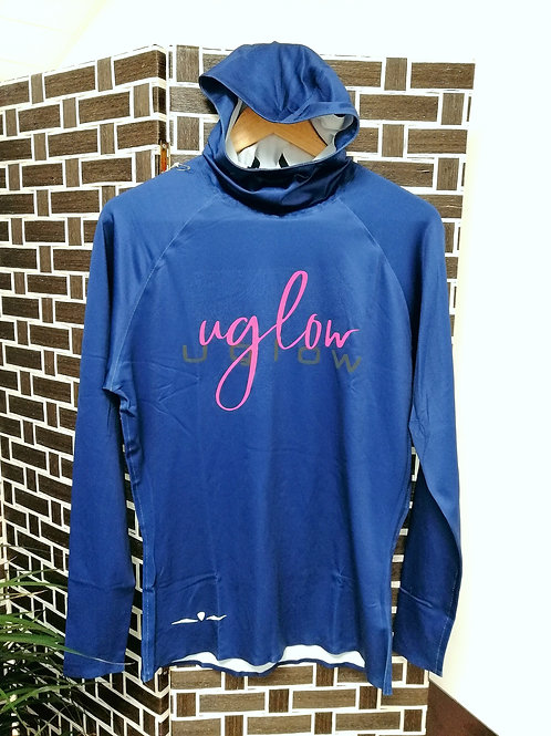 UGLOW - HOODED LS BRUSH MAN