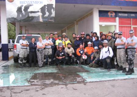 Primer Curso TCCC para personal civil realizado por Medicina Táctica México,  realizado en Zacatecas, Mexico Agosto 2010.