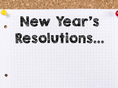 Your New Years Resolution is Here!
