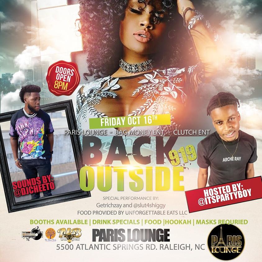 Paris Lounge x Bag Money Entertainment x Clutch Ent Presents