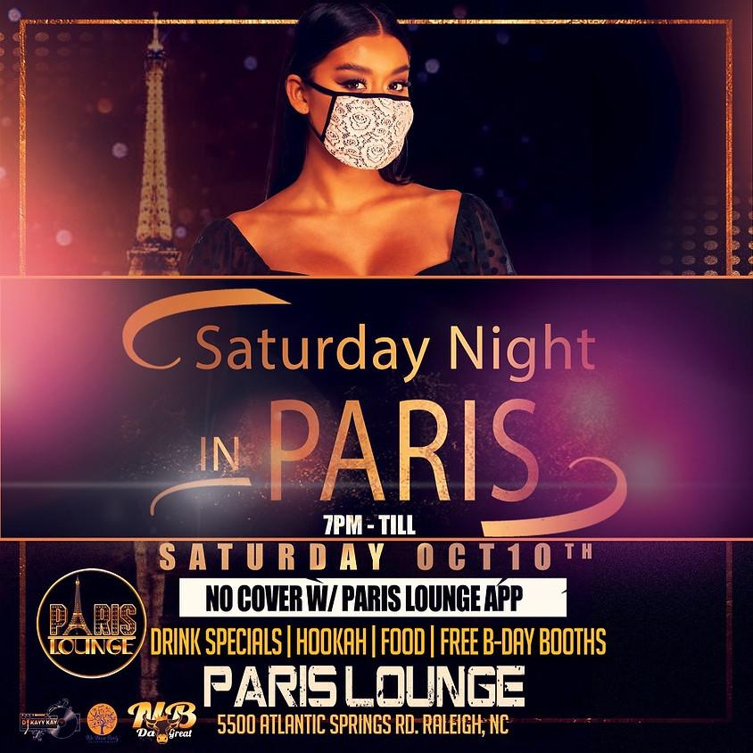 SATURDAY NIGHT IN PARIS