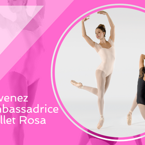 Dernière ligne droite pour devenir ambassadrice Ballet Rosa