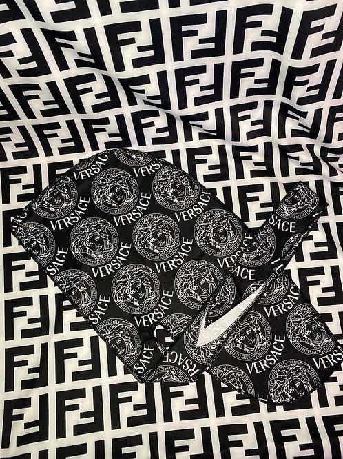 Black & White Versace Durag