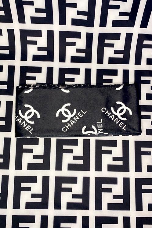 Black & White Chanel Headband