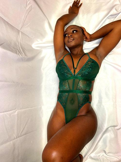 Lavish Emerald Green Teddy