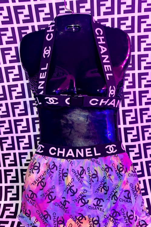 Chanel 3 Piece Skirt Set