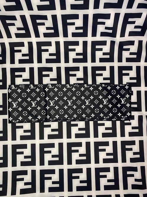 Black & White LV Headband