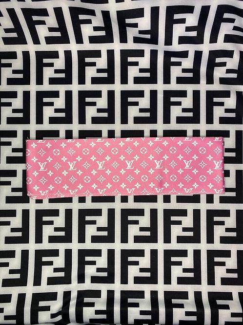 Pink LV Headband