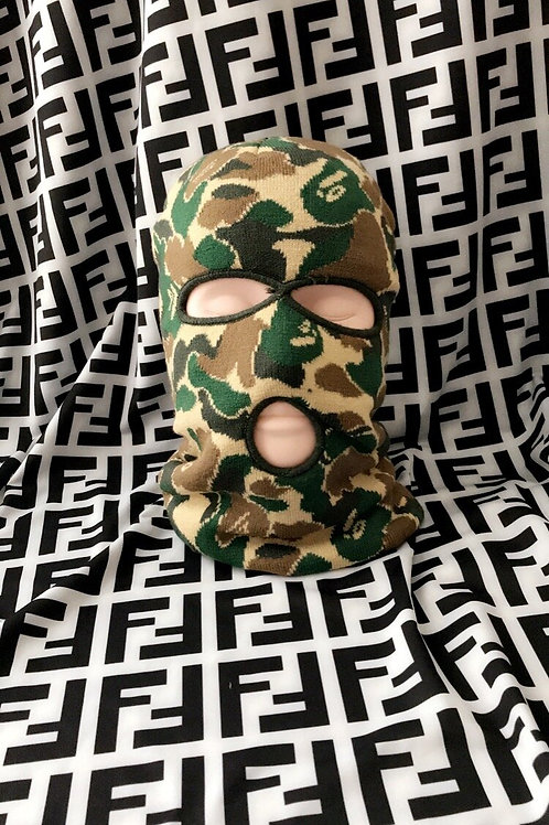 Army Pattern Ski Mask