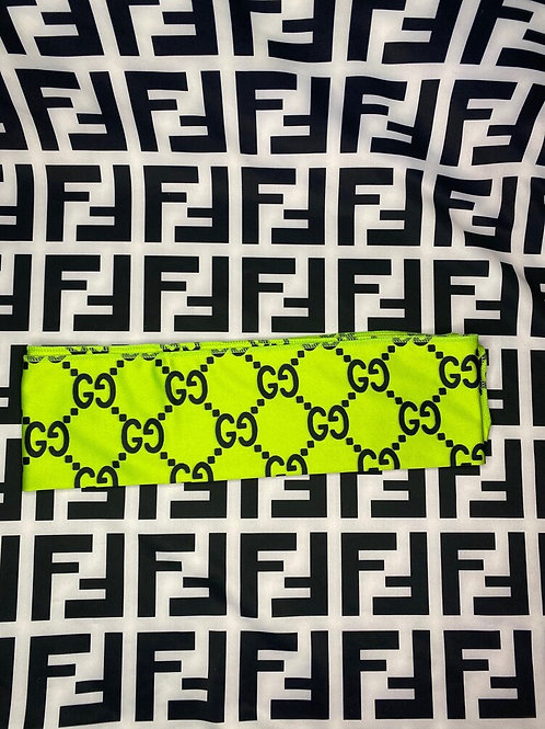 Slime Green Gucci Headband