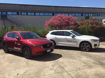 Auto km0 e aziendali Volvo e Mazda della concessionaria Nesti auto a Pisa