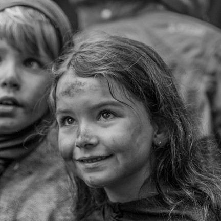 Bettelkinder im Mittelalter