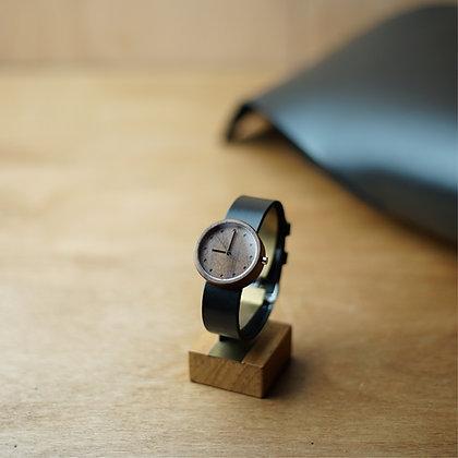 WALNUT ORGANIC BLACK 32mm.