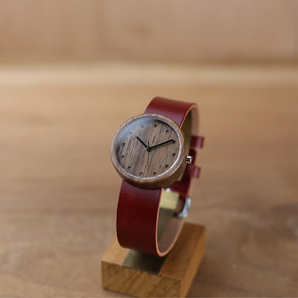 WALNUT ORGANIC RED 32mm
