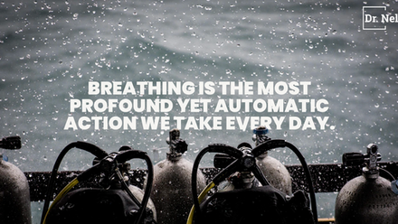 Breathing is the most profound yet automatic action we take every day